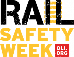 Operation Lifesaver Rail Safety Week Logo