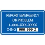emergency notification system sign