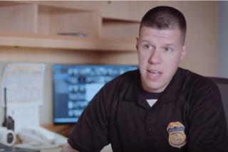 Amtrak officer Rob Hanson is a trained Operation Lifesaver volunteer